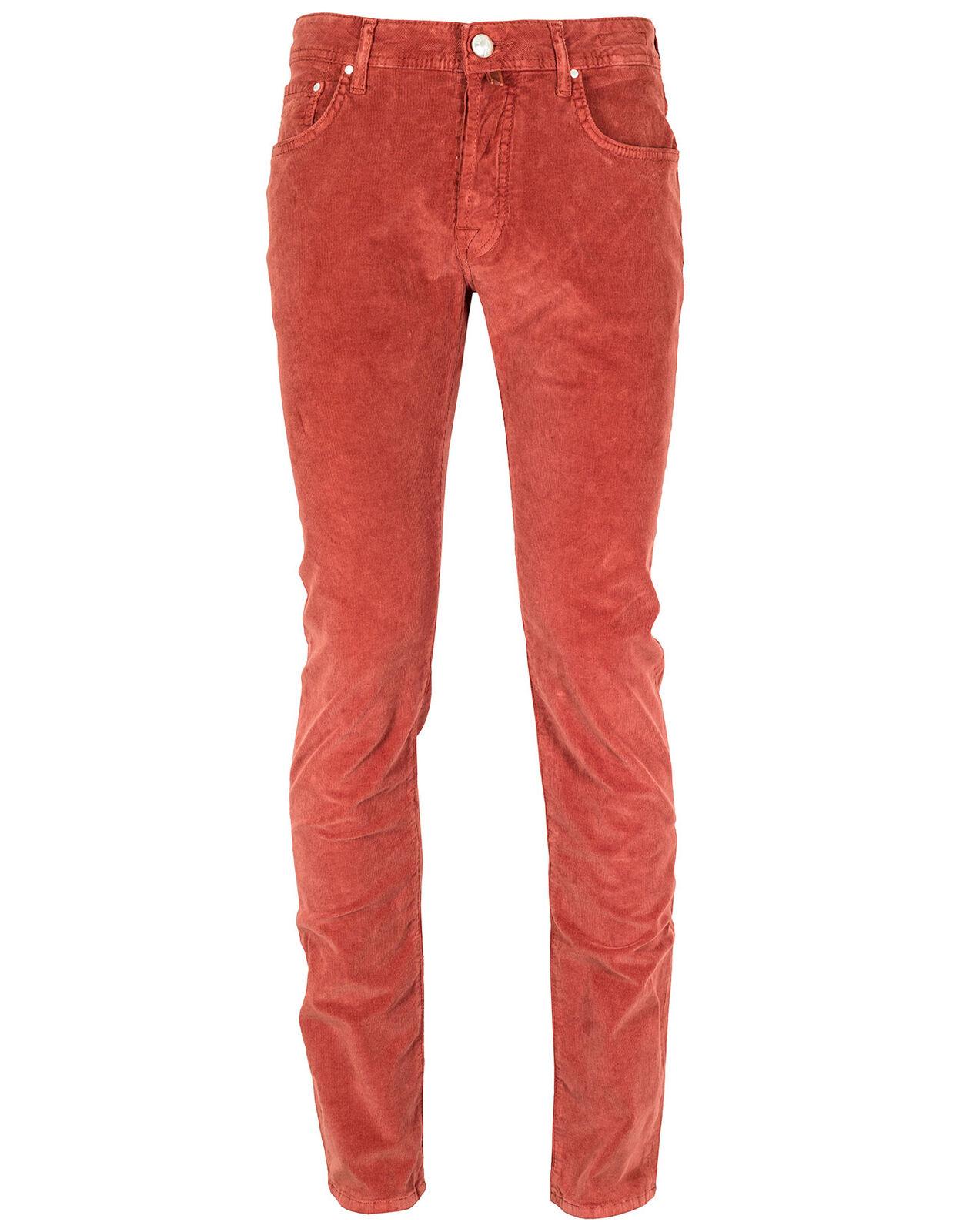 Jacob Cohen Cord Pantaloni pw688 pw688 pw688 comfort in rosso 3e43ba