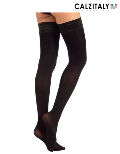 Woman Hold Up Stockings Opaque Hold Up Plus Size Hold Ups Opaque 60 DEN
