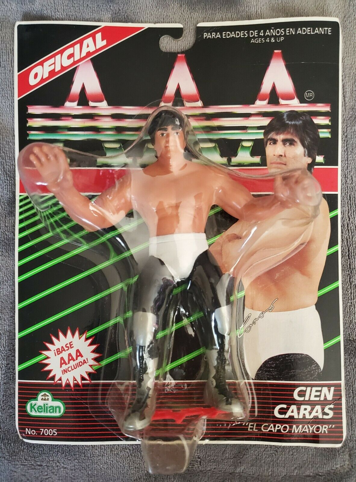 KELIAN CIEN autoAS AAA MEXICAN WRESTLING LUCHA LIBRE cifra VINTAGE  SEALED RARE  centro commerciale online integrato professionale