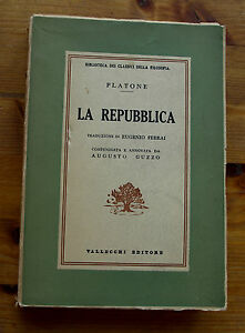 PLATONE-La-Repubblica-1957-Vallecchi