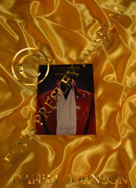 ELVIS PRESLEY Red Book Elvis Presley Auction