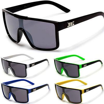 NEW DG Mens Oversized Square Shield Aviator Designer Sunglasses Multiple Colors