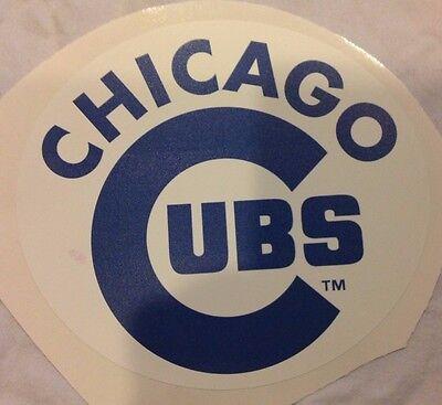 Sport VertrauenswüRdig Chicago Cubs 17.8cm X 16.5cm Fathead Offizielles Mlb Team Logo Wand Grafik 100% Garantie Fanartikel
