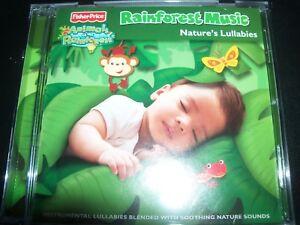 Fisher-Price-Rainforest-Music-Nature-039-s-Lullabies-amp-More-Australia-CD-New-No