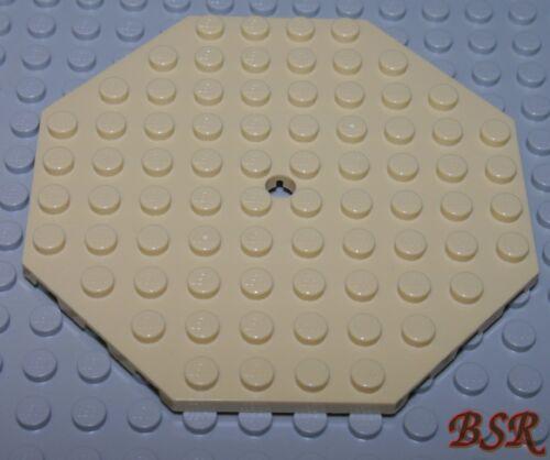 beige 1/3 Stein 10x10 Platte 8-eck unbespielt ! 1 Stück tan SK05