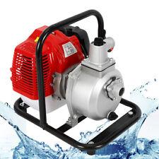 Gas Powered Water Transfer Pump 43cc 2 Stroke 17hp Engine Petrol Water Pump Usa