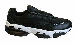 Puma-Cell-Venom-Reflechissant-Baskets-Homme-Basses-Noires-a-Lacets-Chaussures-369701-01