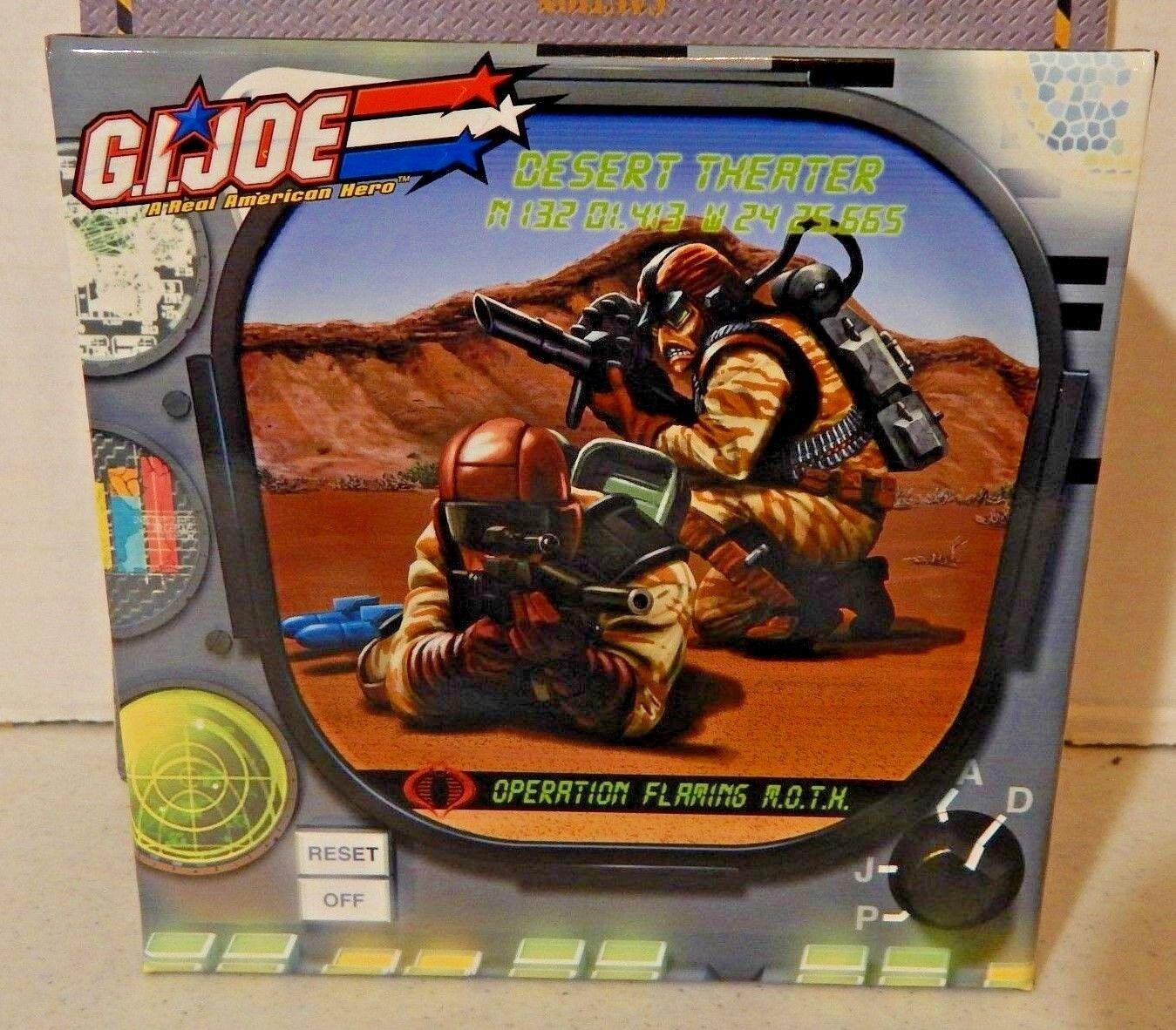 GI JOE  2006 RANGE & FLAK VIPER  100% DESERT THEATRE  MIB   M.O.T.H. MOTH