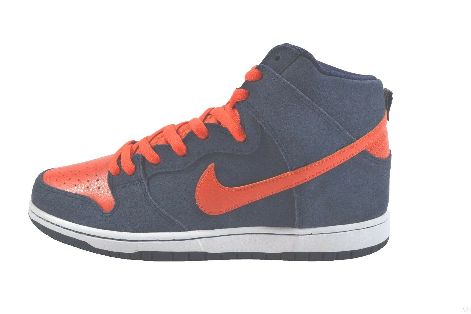 Nike DUNK HIGH PRO SB Obsidian Team Orange blanc Discounted (511) hommes Chaussures