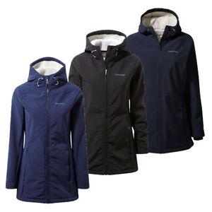 Craghoppers-Womens-Ingrid-Waterproof-Fleece-Lined-softshell-Jacket-RRP-75