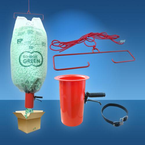 Polstermaterial flo-pak Füllmaterial Abfüllvorrichtung für Verpackungschips