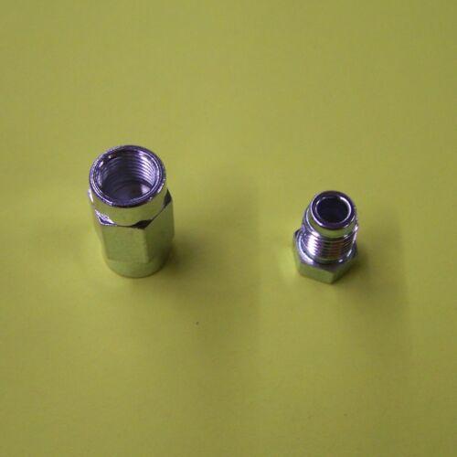 Bremsleitung Bremsrohr 4,75 Kupfer//Nickel 5 m Kunifer 10 Adapter 20 Überwurfschr