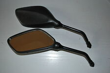 A PAIR OF E MARKED SPORTS MIRRORS TO FIT KEEWAY 50CC AND 125CC SCOOTS 8MM THREAD