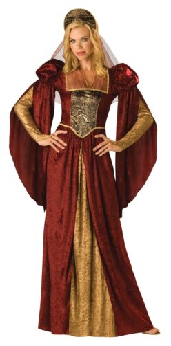 Couples Costume Noble Knight /& Renaissance Maiden Adult Medieval Incharacter