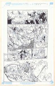Außerordentliche X-Men # 3 P.15 - Anolis, Glob Herman Action Kunst Von Humberto