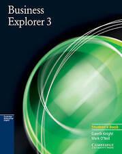 Business Explorer 3 Student's Book, O'Neil, Mark, Knight, Gareth, Very Good cond