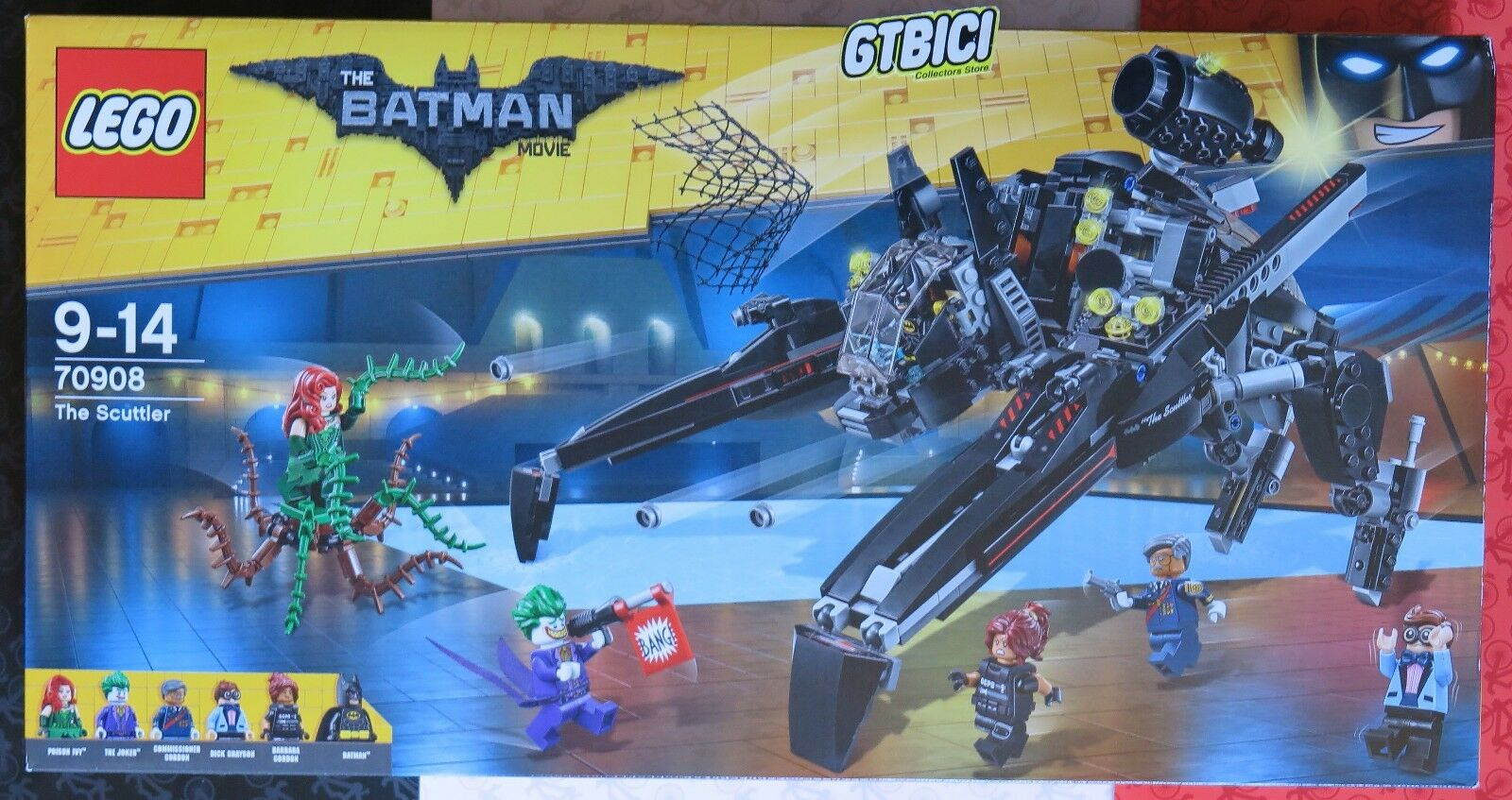 LEGO THE BATMAN MOVIE  `` THE SCUTTLER ´´  Ref 70908  NUEVO A ESTRENAR