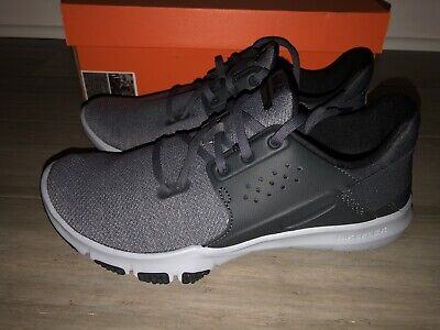 GS Nike Flex Contact 4Y Blk//Dark Grey-Anthracite NIB 917932-002