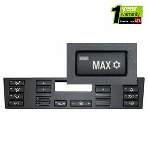 BMW-E39-E53-520-X5-AIR-CON-HEATER-CLIMATE-VENTILATION-MAX-BUTTON