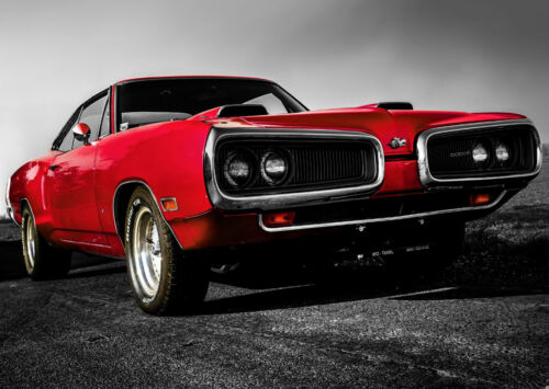 Various Sizes Classic Dodge Vintage Muscle Car Giant Wall Art Poster Print