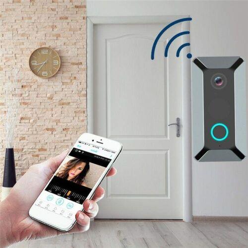 V6 Wifi Doorbell Smart Wireless 720P Video Doorbell Camera Cloud Storage Door