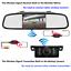 Built-in-Wireless-4-3-034-Car-Rear-View-Monitor-Mirror-Reverse-Backup-Monut-Camera thumbnail 2