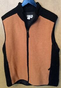 The Territory Ahead Men S Xl Sweater Vest Zip Up
