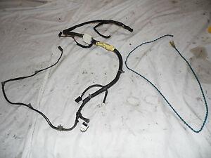 OEM 00 Nissan Xterra Rear Lift Gate Door Wiring Harness embly ... Xterra Wiring Harness on