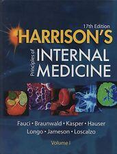 HARRISON'S PRINCIPLES OF INTERNAL MEDICINE - 17th EDITION -  McGRAW HILL (2008)