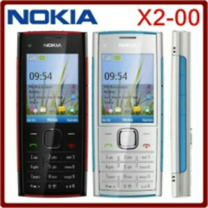 Nokia-X-Series-X2-00-Black-and-red-Unlocked-Cellular-Phone