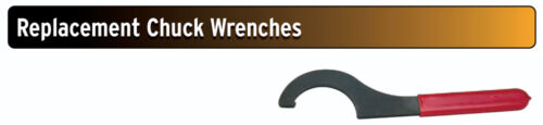 """Replacement Drill Chuck Wrench for 5//8/"""" Sowa GS CAT40 Keyless Drill Chucks"""