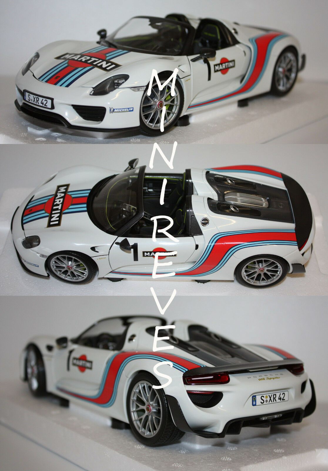 Cadeau de fin fin fin d'année, vente directe à l'usine Minichamps Porsche 918 Spyder 2013 1/18 110062440 7 | Exceptionnelle  942d5b
