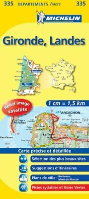 GIRONDE / LANDES 11335 CARTE ' LOCAL ' ( France ) MICHELIN KAART ... by Michelin 9782067132795 ...