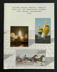 1983-US-Mint-Year-Set-in-Original-USPS-Album-47-Commemorative-Stamps-MNH-Lot