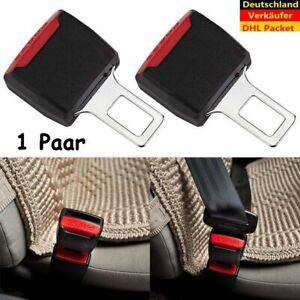 2X-Auto-Sicherheit-Sitzgurt-Extender-Verlaengerung-Schnalle-Lock-Clip-adjutable