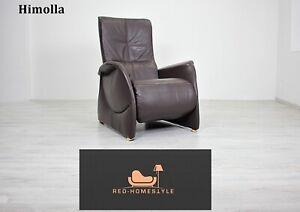 Relax Sessel Sofa Couch Leder Braun