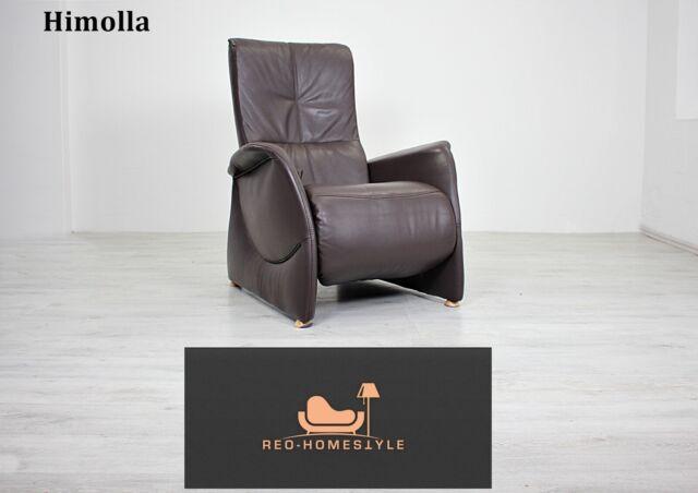 Contur Designer Sessel Teramo 100 Leder Braun Relaxfunktion