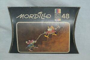 1981 Mordillo Heye Mini Puzzle 48 Pieces Format 16x10 #8147 NEW