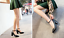 Women-039-s-Mary-Jane-Buckle-Ankle-Strap-High-Heels-Pointed-Toes-Block-Shoes-Casual thumbnail 8