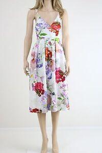 ASOS-SALON-Women-039-s-Premium-Bonded-Scuba-Midi-Prom-Party-Dress-UK-SIZE-10-38