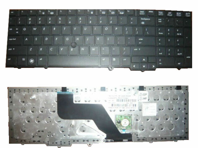 Keyboard for HP EliteBook 8540p 8540w US English