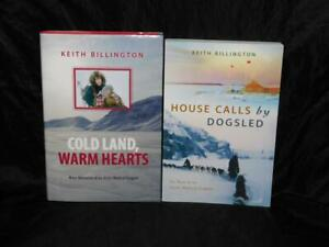 Lot-2-Keith-Billington-Books-Arctic-Canada-Indian-Medical-Outpost-Dogsled-Cold