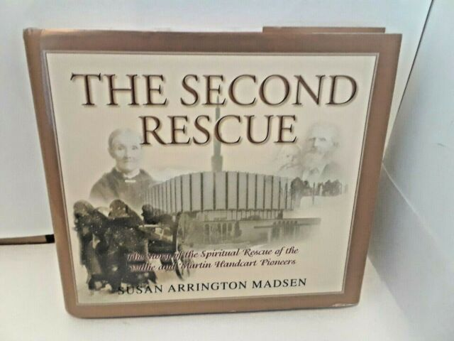 Second Rescue by Susan A. Madsen (1998, Hardcover)  LDS, MORMON BOOKS