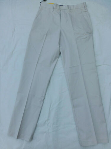 NWT MENS APT 9 POLISHED CHINO MODERN FIT FLAT FRONT PANTS $55 LGT KHAKI APCP8105