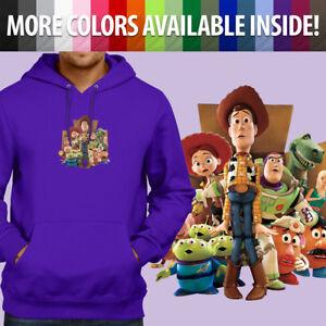 toy story 3 woody jessie buzz lightyear alien pullover sweatshirt. blusa  moletom toy story 433c5ace00b