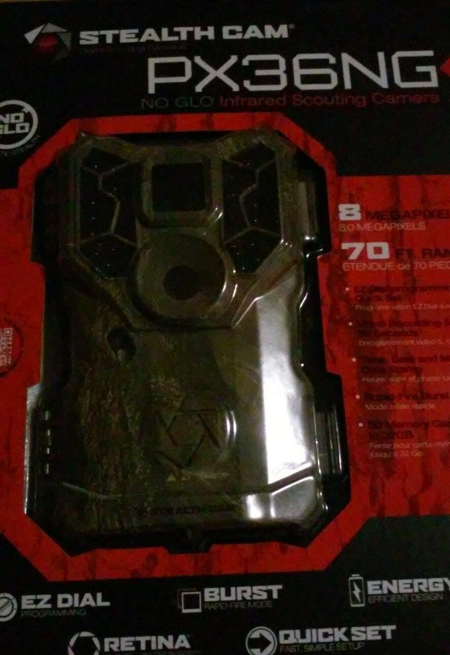 Stealth Cam PX36NG No Glo Scouting Camera