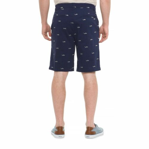 Pantaloncini da casual grigi con navy abbigliamento Isaac blu 36w squali Mizrahi Nwt uomo pwpxFOn