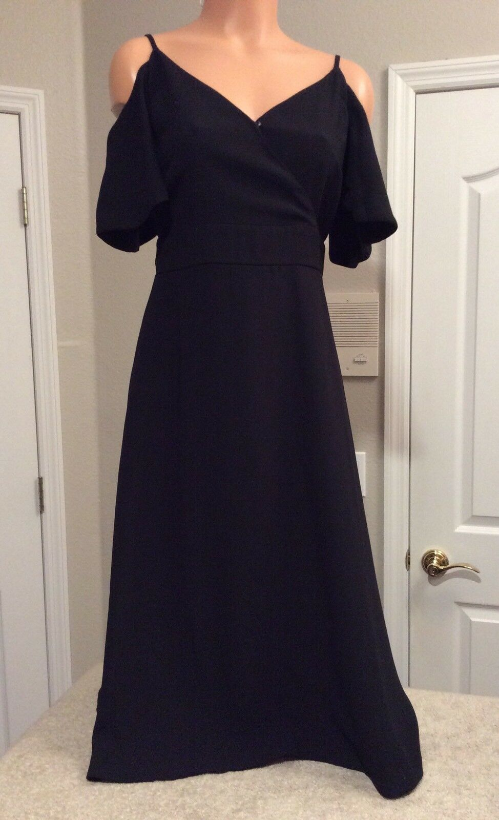 ANN TAYLOR Little-schwarz-Dress. Tea Length. Größe 2. Orig.  NEW.
