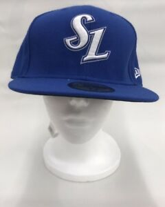 New Era Samsung Lions Fitted Baseball Cap Hat 7 5 8 KBO Brand New ... 52620aabd64d