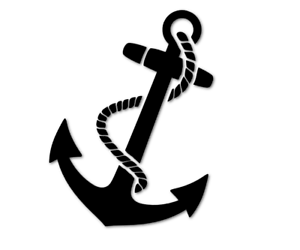 Anker-Aufkleber-Auto-Anchor-Boot-boat-Maritim-Meer-See-Sticker-decal-24-8345